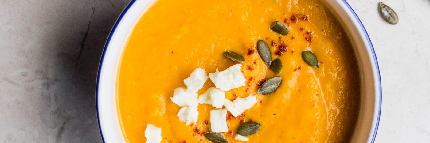 Simple Acorn Squash Soup