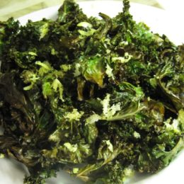 Lemon & Sea Salt Kale Chips